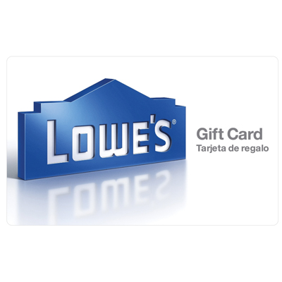 LOWE'S HOME IMPROVEMENT<sup>&reg;</sup> $25 Gift Card - Find everything you need for your home improvement projects.
